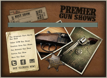 Dfw - the Original Fort Worth Gun Show - Saturday or Sunday Fort Worth, TX - Saturday, December 27th 2014 - Sunday, December 28th 2014 50 tickets donated