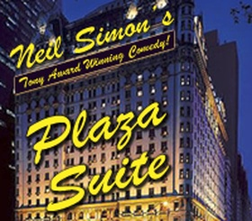 Neil Simons Plaza Suite - Presented by the Tulsa Project Theatre - Friday Tulsa, OK - Friday, May 1st 2015 at 7:30 PM 4 tickets donated